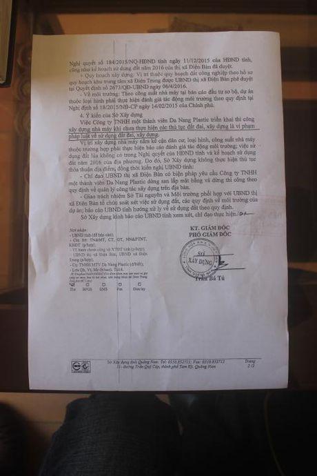 Nha may san xuat bao bi xay trai phep tai Quang Nam - Anh 4
