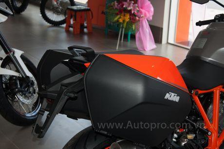 Sieu mo to KTM 1290 Super Duke GT dau tien cap ben Viet Nam, gia tu 690 trieu Dong - Anh 14