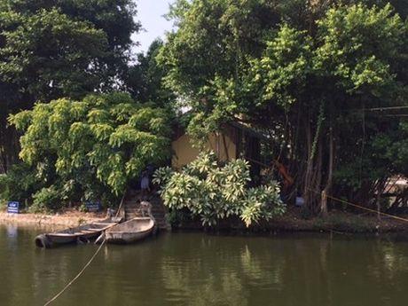Cuong che thao do cong trinh xay dung trai phep tai ho Van, di tich Van Mieu - Quoc Tu Giam - Anh 1