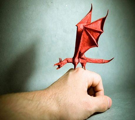Ngam bo suu tap origami dong vat sinh dong cua nghe si Tay Ban Nha - Anh 3