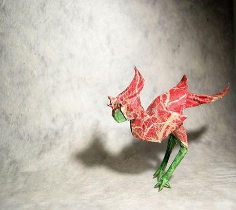 Ngam bo suu tap origami dong vat sinh dong cua nghe si Tay Ban Nha - Anh 9