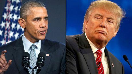 TT Obama lan dau len tieng ve vu lo doan bang tho tuc cua ong Trump - Anh 1