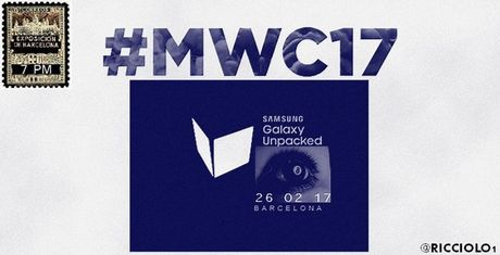 Samsung rot rao chuan bi cho su kien Galaxy S8 vao ngay 26/2/2017 - Anh 1