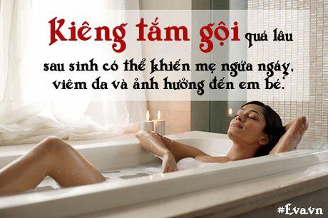 "Nhung sai lam ""chet nguoi"" ve chuyen kieng cu sau sinh cua me Viet - Anh 2"