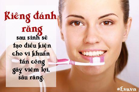 "Nhung sai lam ""chet nguoi"" ve chuyen kieng cu sau sinh cua me Viet - Anh 3"
