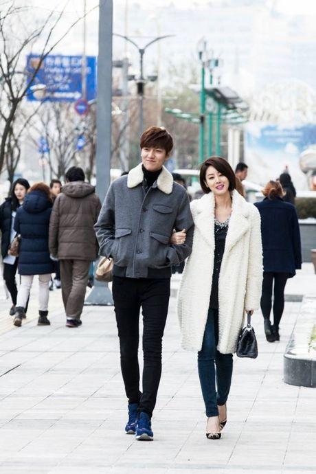 'Me' Lee Min Ho hoi ngo 'con trai' sau 3 nam - Anh 2