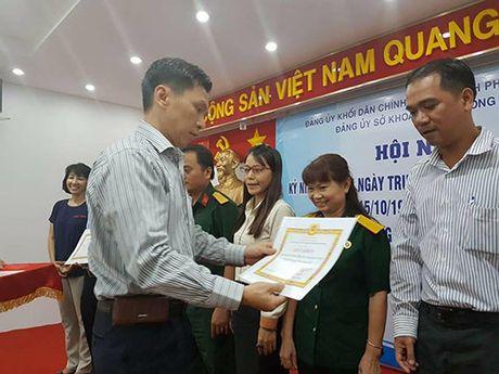 So KH&CN TP.HCM: 7 don vi duoc khen thuong ve cong tac dan van - Anh 1