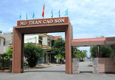 TKV 'manh tay', Giam doc Cong ty than Cao Son mat chuc - Anh 1