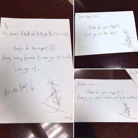 Ly Nha Ky xin chu ky Xa Thi Man cho fan Viet - Anh 2