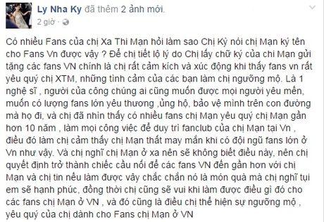 Ly Nha Ky xin chu ky Xa Thi Man cho fan Viet - Anh 3