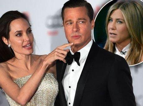 Angelina Jolie muon keo Jennifer Aniston vao cuoc chien ly hon voi Brad Pitt - Anh 1