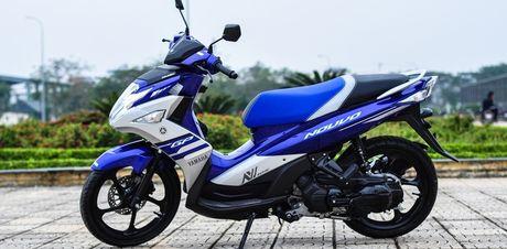 Yamaha khai tu xe tay ga Nouvo - Anh 1