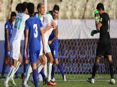 Vong loai World Cup: Thai Lan thua nang Iraq 0-4 - Anh 1