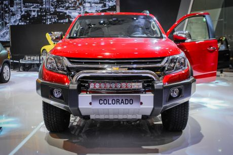 Anh Chevrolet Colorado 2017 moi ve Viet Nam - Anh 2