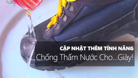 Huong dan bien giay thuong thanh giay chong tham nuoc - Anh 1