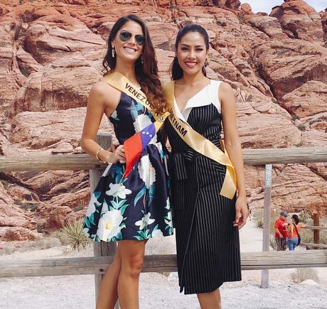 Nguyen Thi Loan rang ro xinh tuoi vuot troi ca Hoa hau Venezuela - Anh 2
