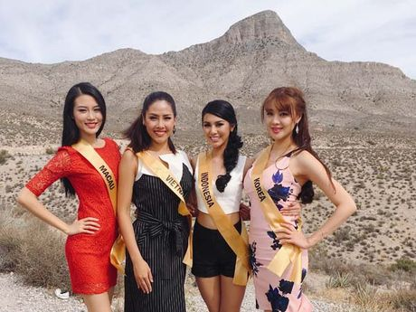Nguyen Thi Loan rang ro xinh tuoi vuot troi ca Hoa hau Venezuela - Anh 5