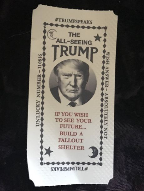 May hinh Trump an noi linh tinh gay nao loan New York - Anh 4