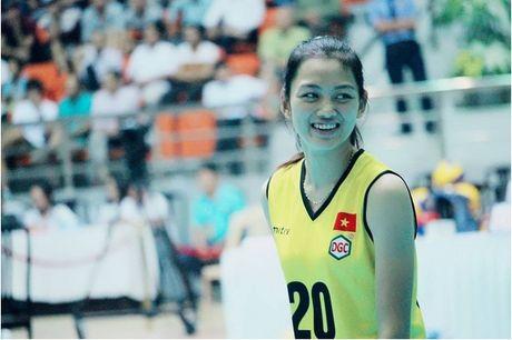 Ung vien Miss VTV Cup 2016 trai long ve dam me bong chuyen - Anh 1