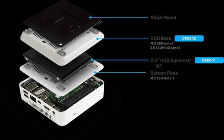 MSI ra mat Cubi 2 chay Core i the he 7, co khe M.2, gan them duoc o 2,5' HDD - Anh 1