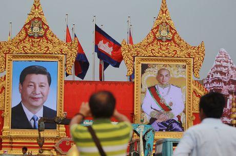 Chu tich TQ Tap Can Binh: 'Campuchia la lang gieng tot, ban than' - Anh 1