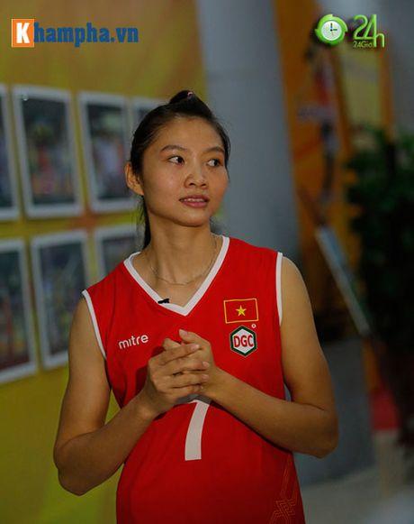 Ngam cac ung vien Hoa khoi bong chuyen VTV Cup 2016 - Anh 13