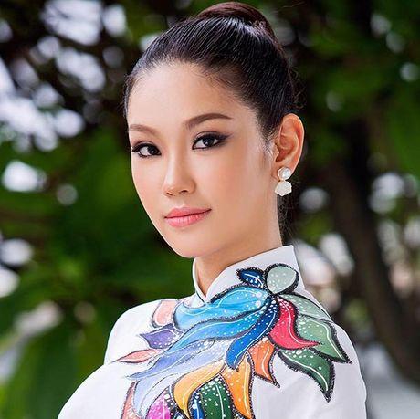 My nhan Viet Nam thi HH Quoc te gay tranh cai vi mac ao nhan nhum - Anh 5