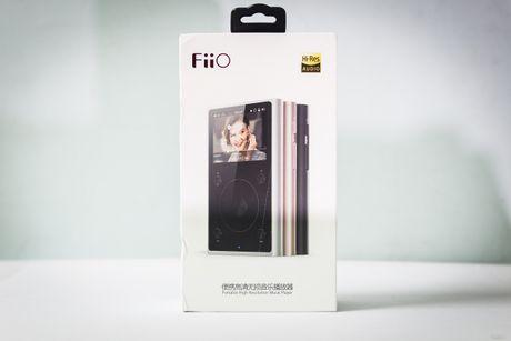 Can canh mo hop may nghe nhac Fiio X1 II - Anh 1