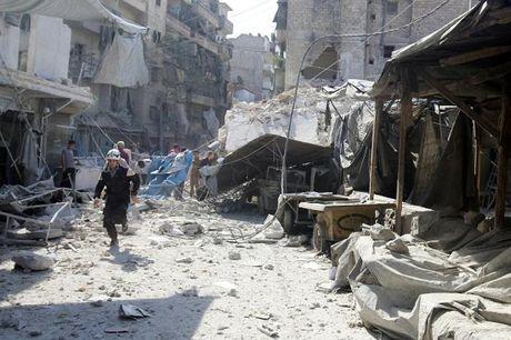 Syria: Aleppo bi nem bom du doi, Nga - My noi lai dam phan - Anh 1