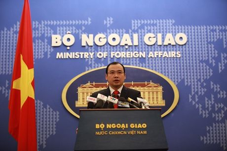 Bo Ngoai giao tra loi ve nha may hat nhan Trung Quoc gan Viet Nam - Anh 1