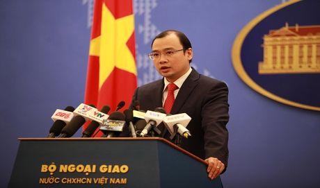 Viet Nam khang dinh khong cho nuoc nao dat can cu quan su tai Cam Ranh - Anh 1