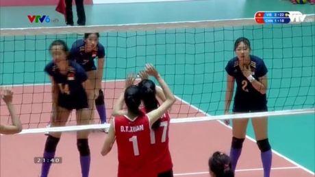 Tuyen bong chuyen nu Viet Nam vs tre Trung Quoc: Tuyet voi cho cac cac co gai Viet Nam - Anh 2
