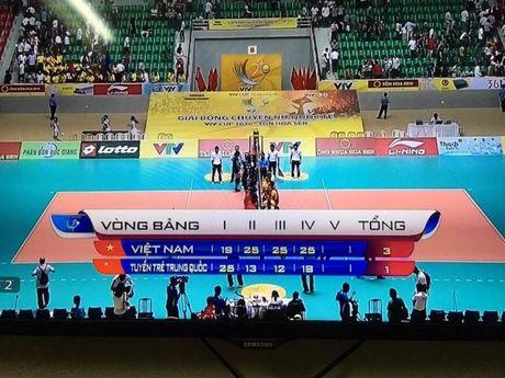 Tuyen bong chuyen nu Viet Nam vs tre Trung Quoc: Tuyet voi cho cac cac co gai Viet Nam - Anh 4