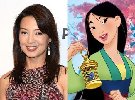 Disney se chon dien vien Trung Quoc vao vai Hoa Moc Lan - Anh 4