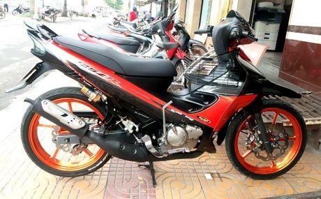 Biker Soc Trang tau Yamaha 125ZR hang thua gia 300 trieu - Anh 1