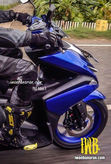 Nhung diem dang chu y tren Yamaha NVX thay the Nouvo - Anh 1