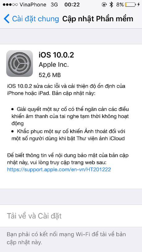 Nguyen nhan va cach khac phuc loi tu thoat ung dung tren iOS 10 - Anh 3