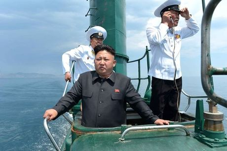 Soc: My - Han dien tap am sat Kim Jong-un - Anh 1