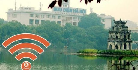 Da co 267.000 luot truy cap WiFi o pho di bo Ha Noi - Anh 1