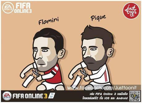 Biem hoa 24: Ba xa Rooney 'noi doa' voi CDV Anh - Anh 6
