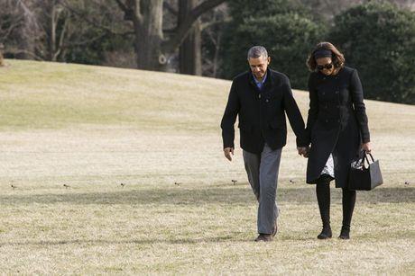 Hinh anh de nhat phu nhan My Michelle Obama an tuong va than thien - Anh 12