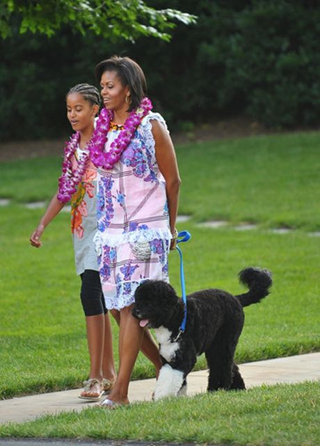 Hinh anh de nhat phu nhan My Michelle Obama an tuong va than thien - Anh 6