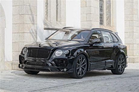 Mansory tung goi do moi cho SUV Bentley Bentayga - Anh 2