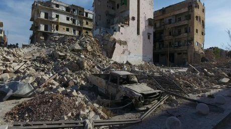 Kinh hoang canh tuong nhu bai tha ma o thanh pho Aleppo - Anh 1
