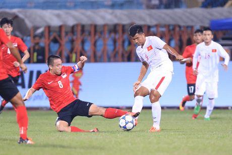 U19 Viet Nam dau a quan chau A - Anh 1