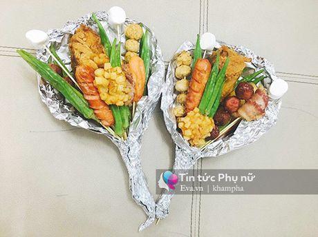Can 20/10, hoa lam tu do an gia 100 nghin/bo gay sot Sai Gon - Anh 2
