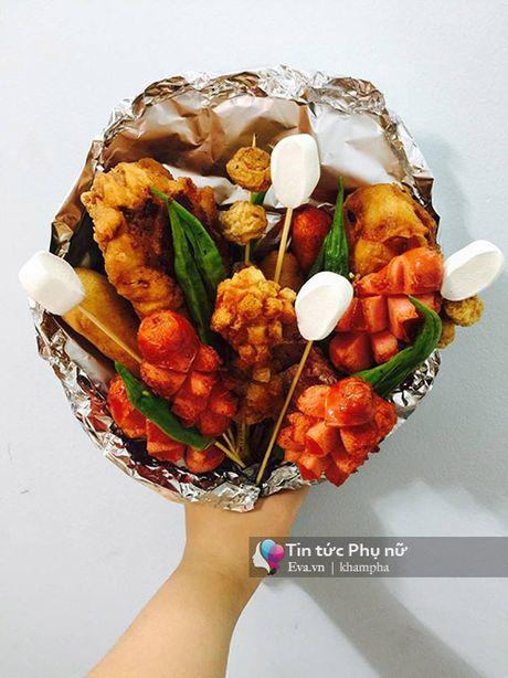 Can 20/10, hoa lam tu do an gia 100 nghin/bo gay sot Sai Gon - Anh 6