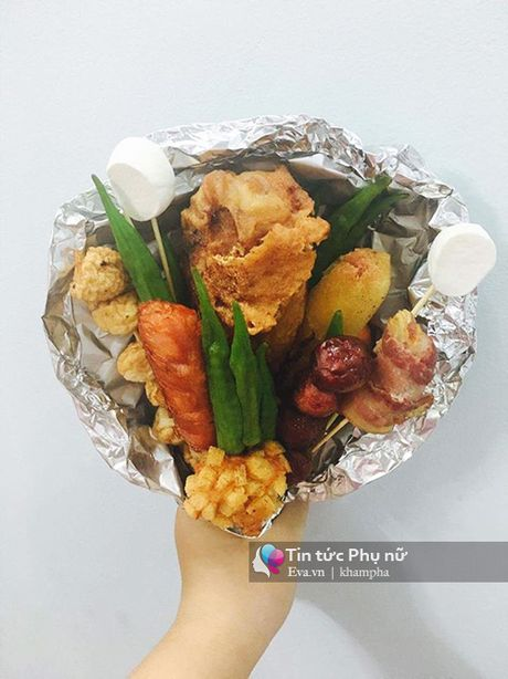 Can 20/10, hoa lam tu do an gia 100 nghin/bo gay sot Sai Gon - Anh 8