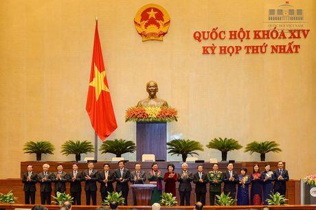 Cong viec cua Chu tich Quoc hoi va 4 Pho Chu tich Quoc hoi khoa XIV - Anh 1