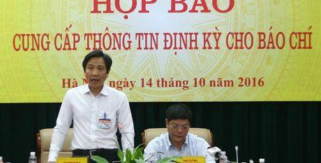 Thu truong Bo Noi vu: Da bao cao trach nhiem vu Trinh Xuan Thanh - Anh 1